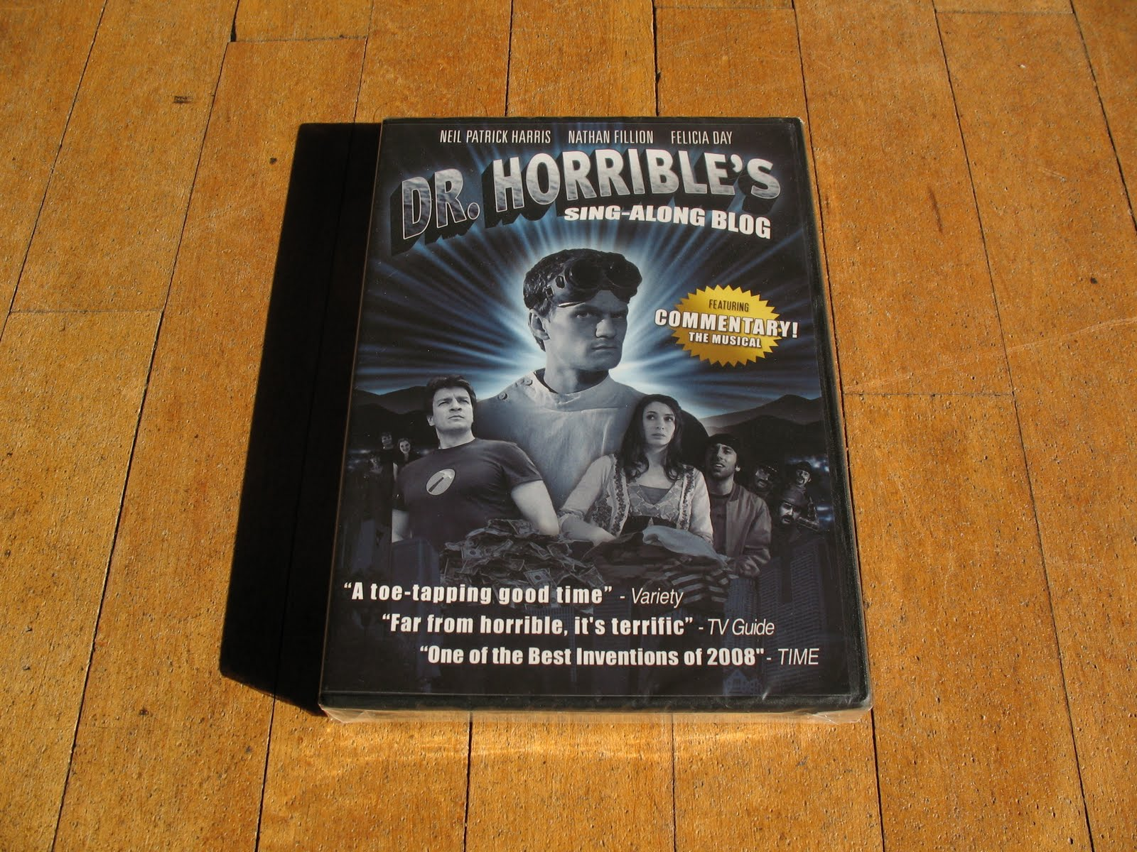 Not only is DR. Horrible like a primer on how to create a realistic  villain, but the commentary track is a musical too.